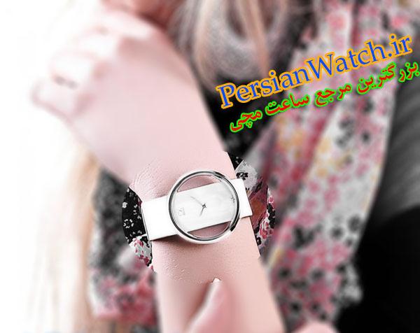 ساعت مچی سی کی سفید